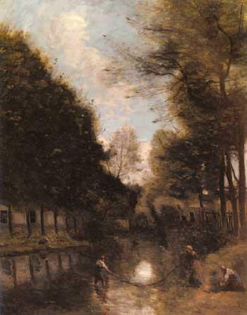 Jean Baptiste Corot Gisors Riviere Bordee