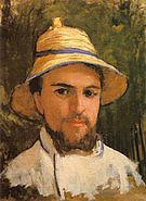 Gustave Caillebotte Autoportrait  fragment c1873