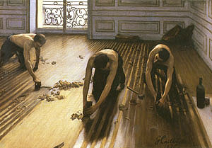 Gustave Caillebotte Floor Scrapers 1875