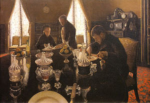 Gustave Caillebotte Luncheon 1876