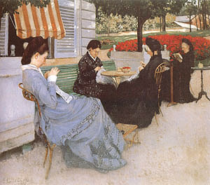 Gustave Caillebotte Portraits in the Country 1876