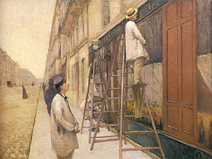 Gustave Caillebotte The House Painters 1877