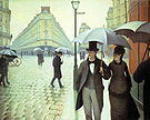 Gustave Caillebotte Paris Street  Rainy Weather  1877