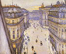 Gustave Caillebotte Rue Halevy Seen from a Sixth Floor 1878