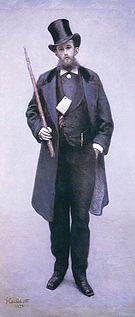 Gustave Caillebotte Portrait of Paul Hugot  1878