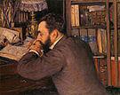 Gustave Caillebotte Portrait of Henri Cordier 1883