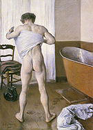 Gustave Caillebotte Man at his Bath 1884