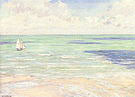 Gustave Caillebotte Seascape regatta at Villers c1880