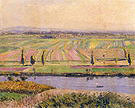 Gustave Caillebotte The Gennevilliers Plain Seen from the Slopes of Argenteuil 1888