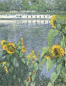Gustave Caillebotte Soleils au Bord de la Seine 1886