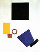 Kazimir Malevich Self-Portrait in Two Dimensions 1915