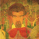 Kazimir Malevich Study for a Fresco Self-Portrait 1907