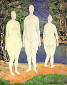 Kazimir Malevich Bathers  1908