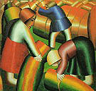 Kazimir Malevich The Harvest of the Century  1912