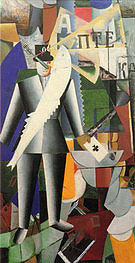 Kazimir Malevich The Aviator 1914