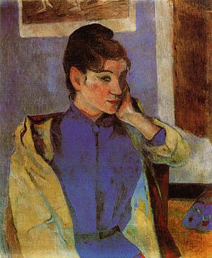 Paul Gauguin Madeleine Bernard 1888