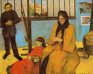 Paul Gauguin The Schuffenecker Family 1889