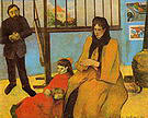 Paul Gauguin The Schuffenecker Family 1889