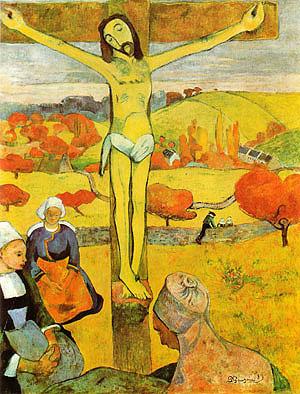 Paul Gauguin The Yellow Christ 1889
