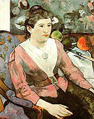 Paul Gauguin Portrait of a Woman with Cezanne Still-Life 1890