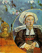 Paul Gauguin La Belle Angele Portrait of Madame Satre 1889