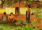 Paul Gauguin Why are you angry? No te aha oe riri?  1896