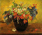 Paul Gauguin Bouquet of Flowers 1896