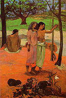 Paul Gauguin The Call 1902