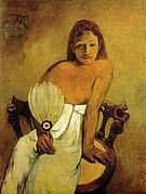 Paul Gauguin Girl with a Fan 1902