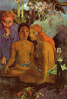 Paul Gauguin Barbarous Tales 1902