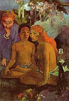 Paul Gauguin Barbarous Tales 1902
