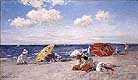 William Merritt Chase At the Seaside c 1892