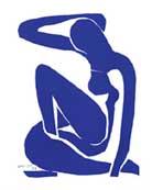 Matisse Blue Nude 1 1952