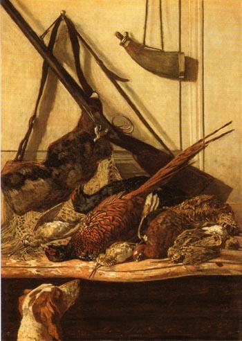 Claude Monet Hunting Trophies 1862