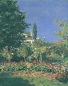 Claude Monet Flowering Garden 1866