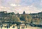 Claude Monet The Quai du Louvre 1867