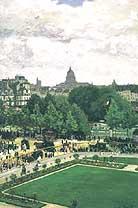 Claude Monet The Jardin de l Infante 1867