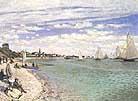 Claude Monet Regatta at Sainte Adresse 1867