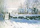 Claude Monet The Magpie 1869