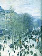 Claude Monet The Boulevard des Capucines 1873