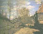Claude Monet The Ruisseau de Robec Rouen 1872