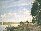 Claude Monet The Promenade at Argenteuil 1872