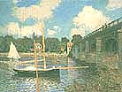 Claude Monet The Road Bridge Argenteuil 1874