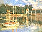 Claude Monet The Bridge at Argenteuil 1874