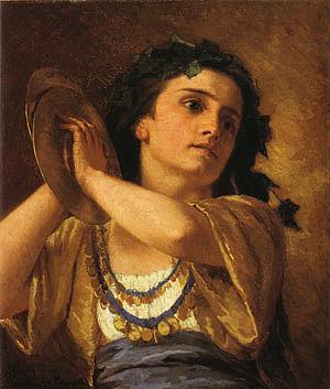 Mary Cassatt Bacchante 1872