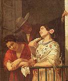 Mary Cassatt The Flirtation A Balcony in Seville 1872