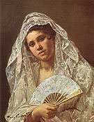 Mary Cassatt A Seville Belle 1873