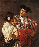 Mary Cassatt Offering the Panel to the Bullfighter 1872
