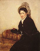 Mary Cassatt Portrait of Madame X Dressed for the Matinee 1878