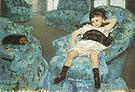 Mary Cassatt Portrait of a Little Girl 1878